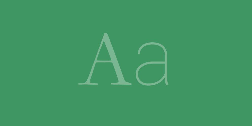 proposal fonts