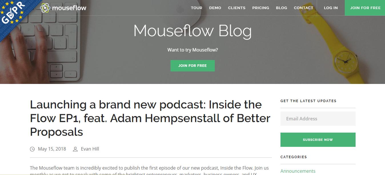 inside the flow podcast adam hempenstall