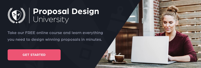 proposal design university