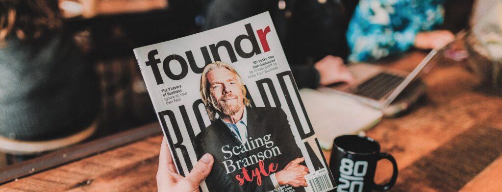 Close more deals Richard Branson