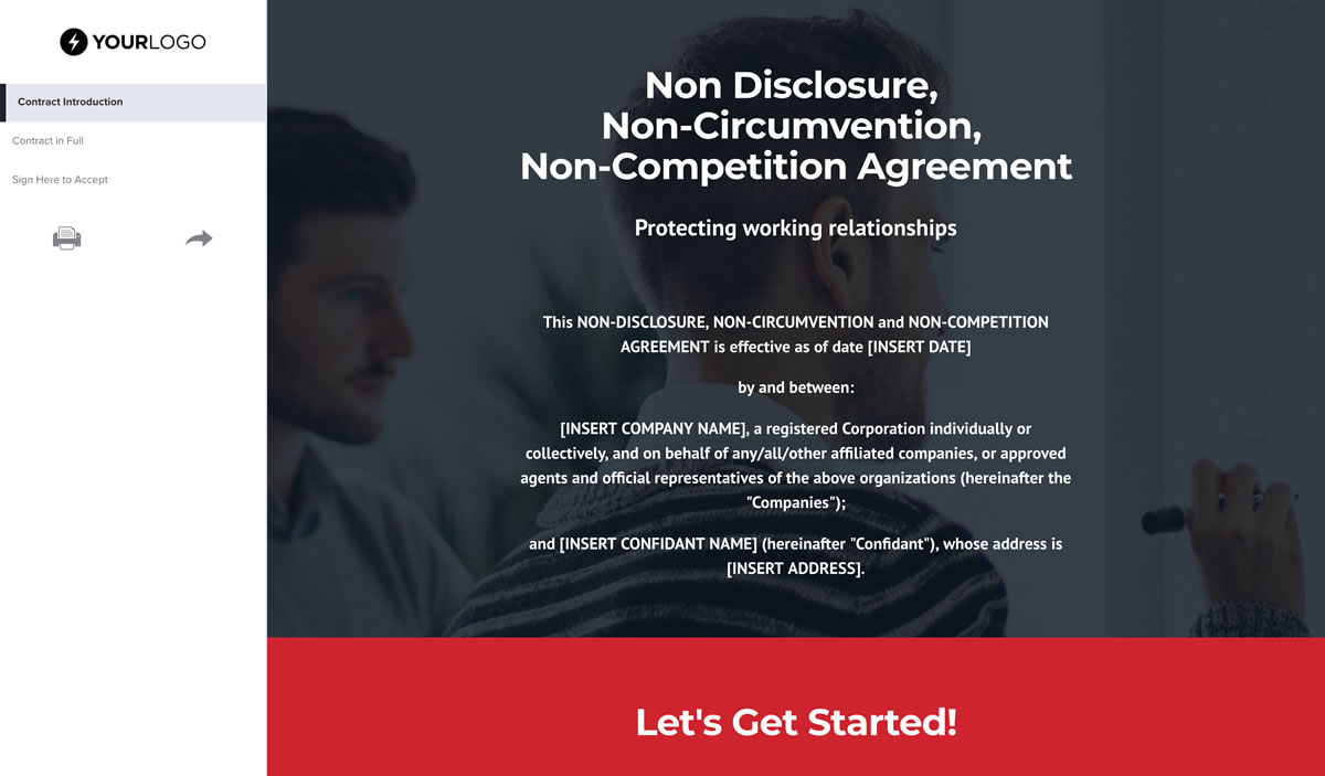 Free Non Circumvention Agreement Template Better Proposals
