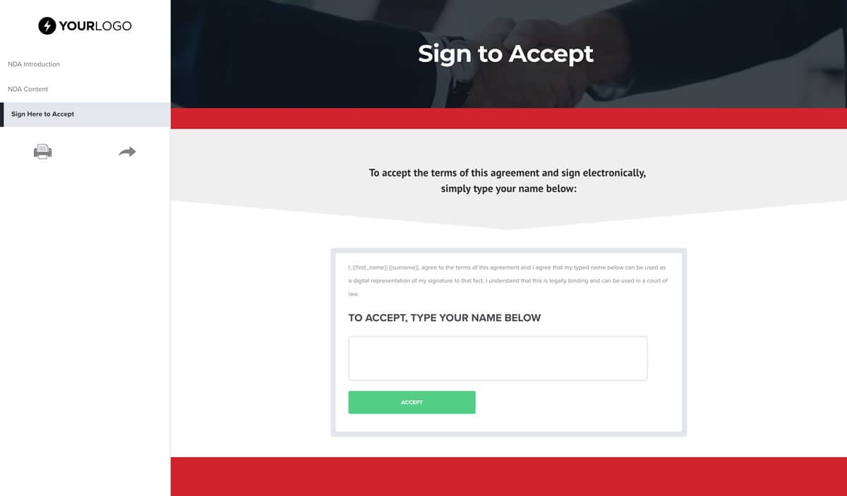 Free Non Disclosure Agreement Template Better Proposals