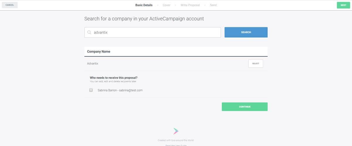 ActiveCampaign Integration - Better Proposals