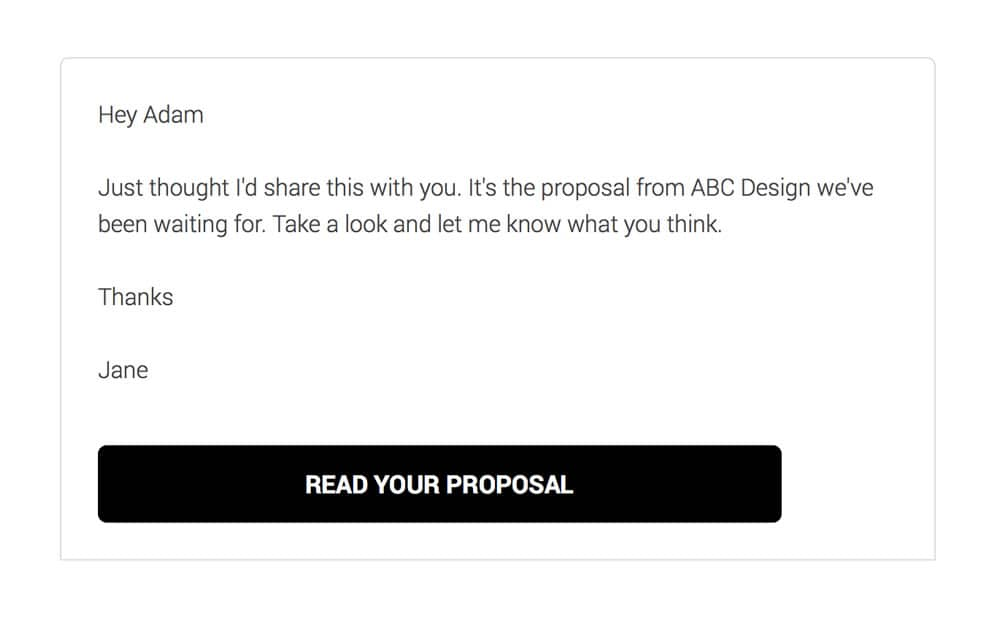 Forward your proposal