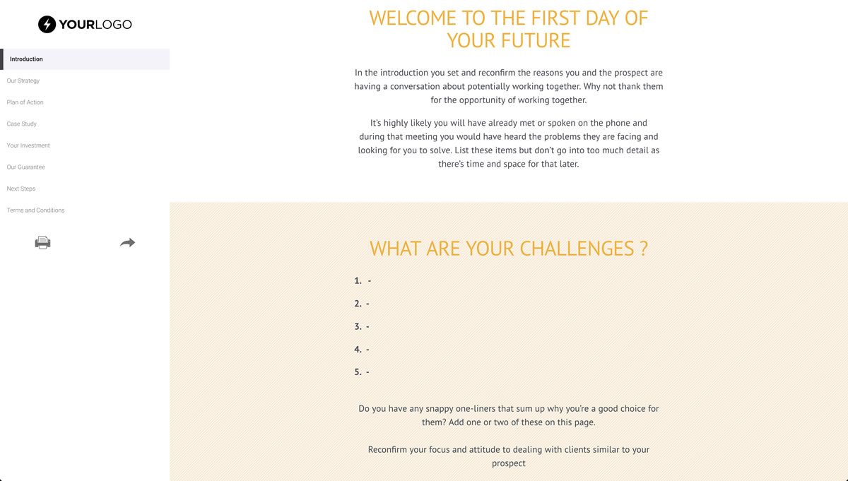 Free coaching proposal template better proposals or take the tour of better proposals flashek Image collections