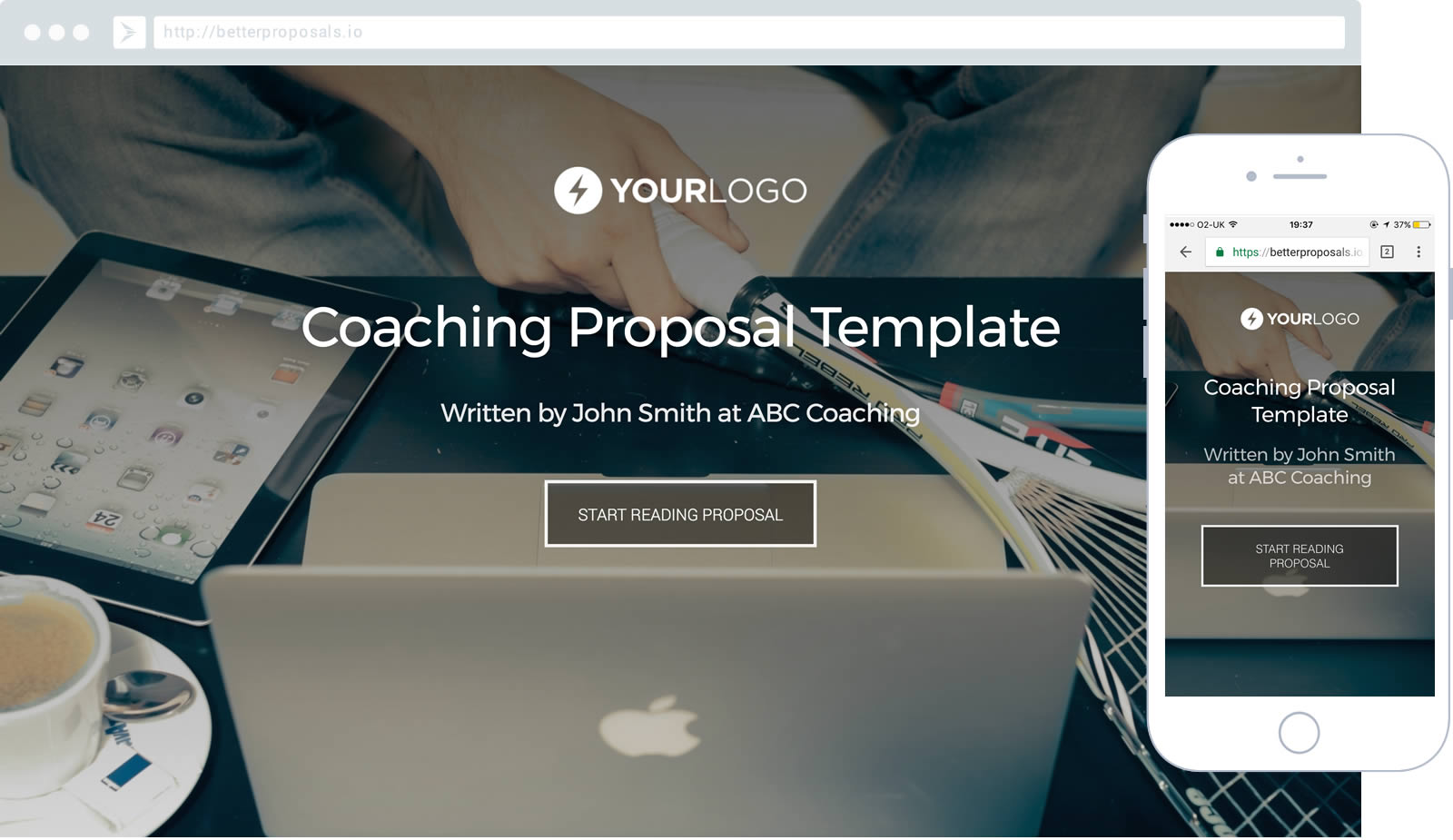 coaching proposal template proposal template for any coach or consultant
