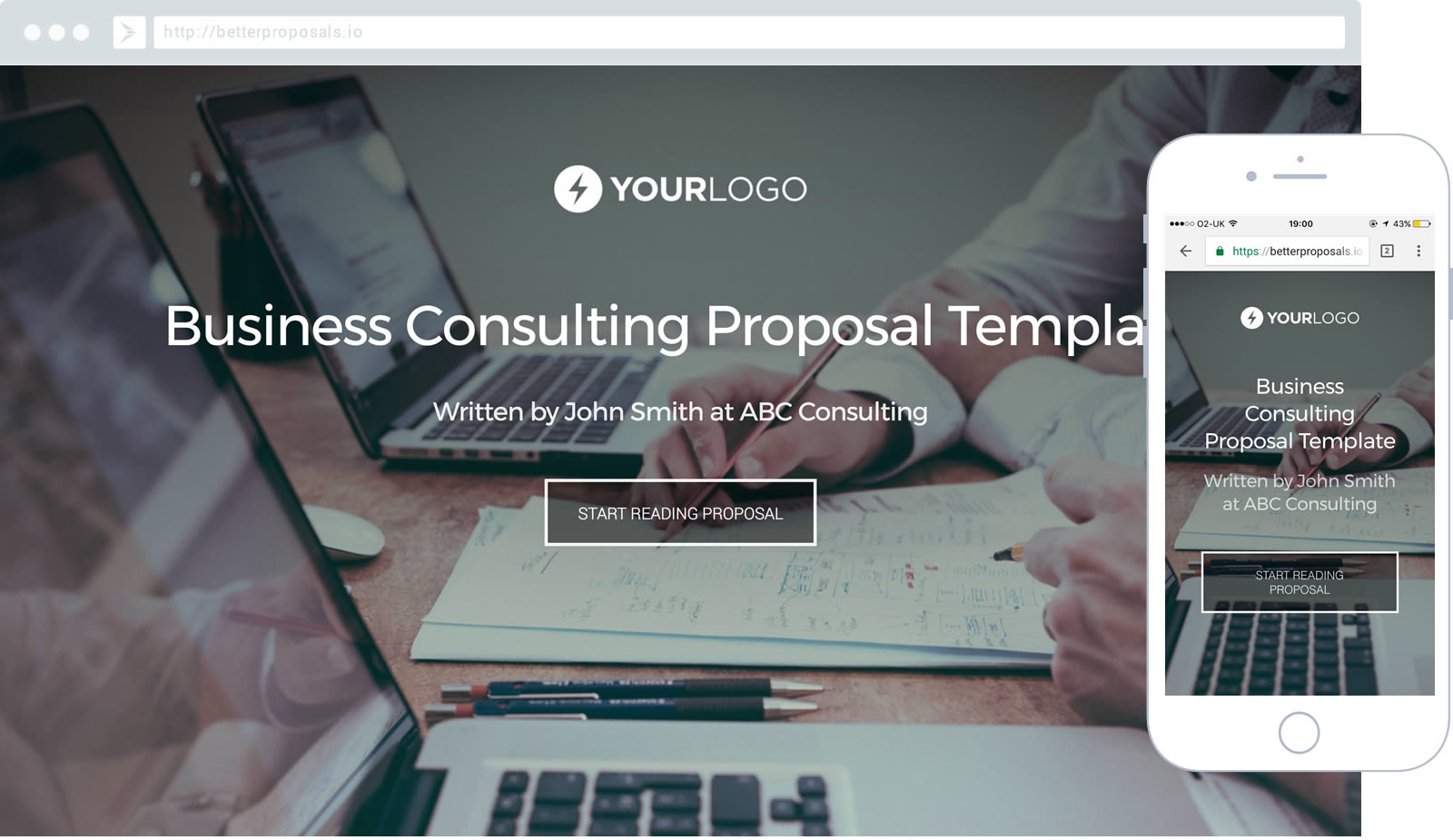 Business consulting proposal template better proposals business consulting proposal template proposal template for any consultant helping to improve businesses wajeb Images