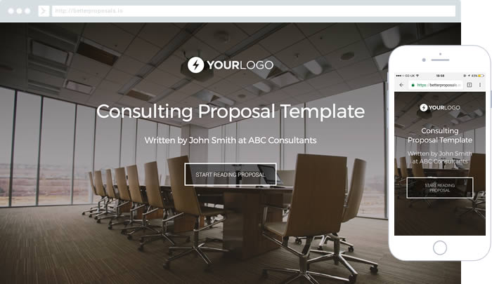 Consulting Proposal Template For Any Consultant Helping To Improve Businesses
