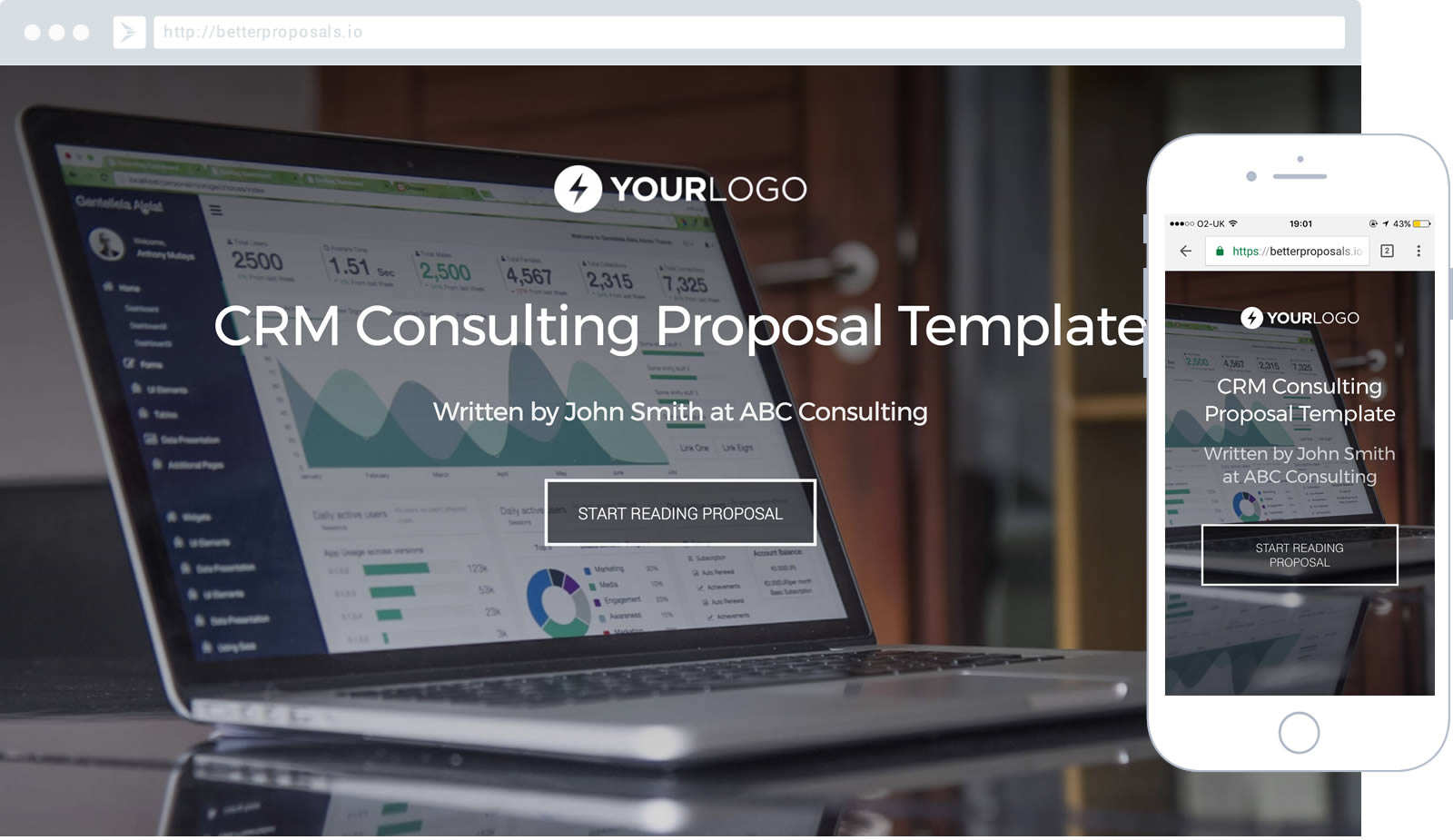 Free Crm Consulting Proposal Template Better Proposals
