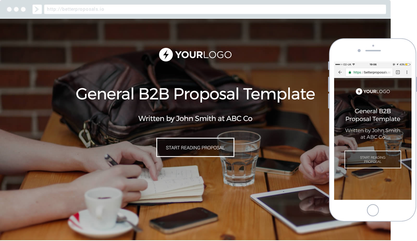 Free Sales Proposal Template Better Proposals – Free Sales Proposal Template