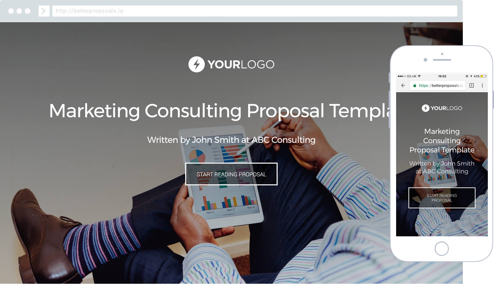 marketing consulting proposal template proposal template for any consultant helping to improve the marketing of a businesses