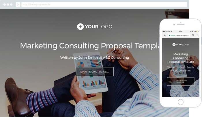Free Sample Proposal Templates  Better Proposals