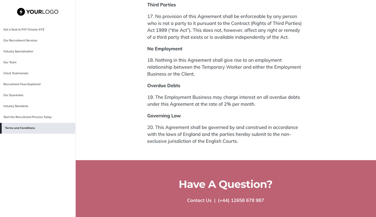 This Free Staffing Agency Proposal Template Won 23m Of Business