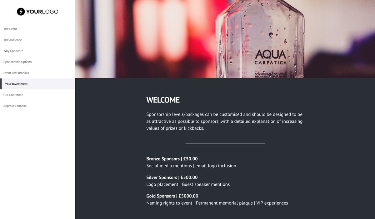 This [Free] Event Sponsorship Proposal Template Won $16M of