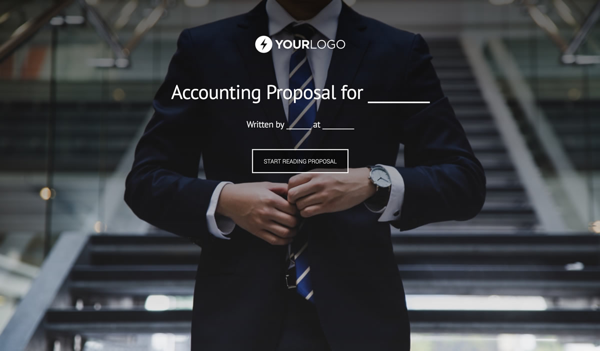 Free Accounting Proposal Template Better Proposals