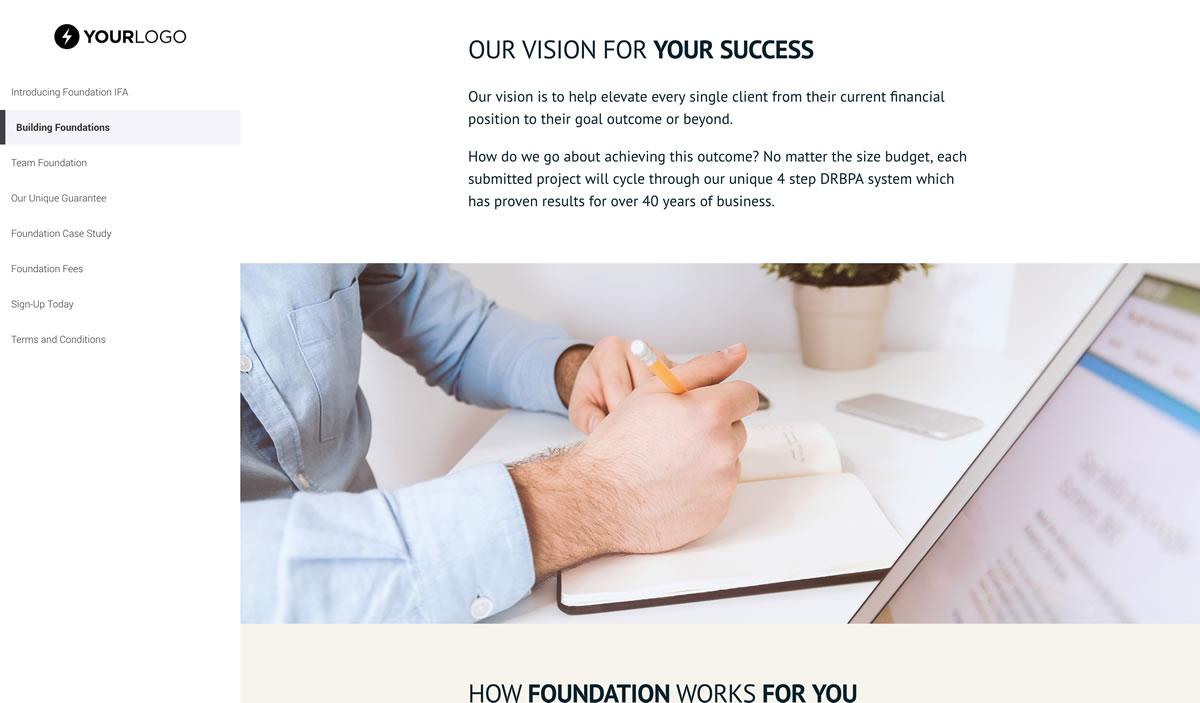 Free Financial Advisor Proposal Template Better Proposals