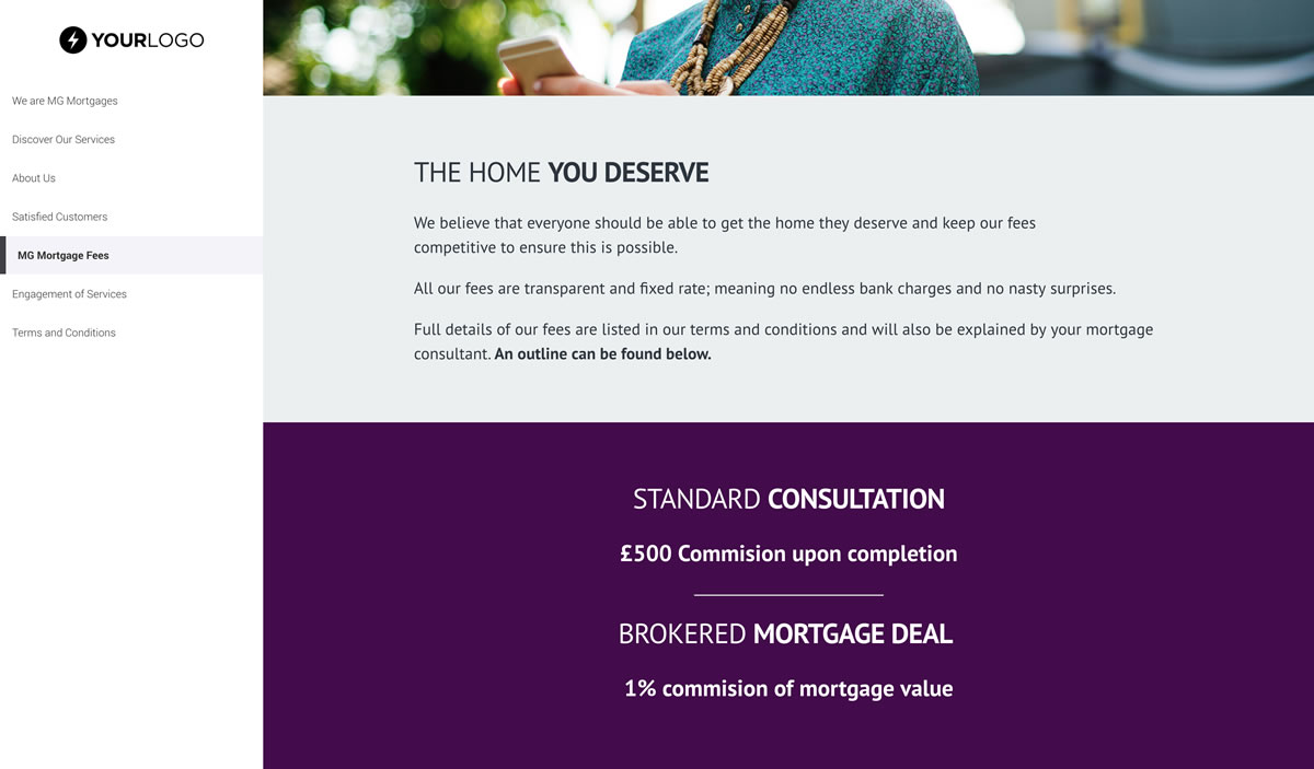 Free Mortgage Advisor Proposal Template Better Proposals