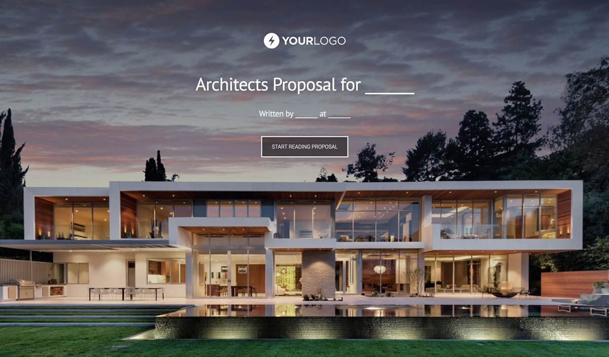 Architecture Proposal Template Better Proposals