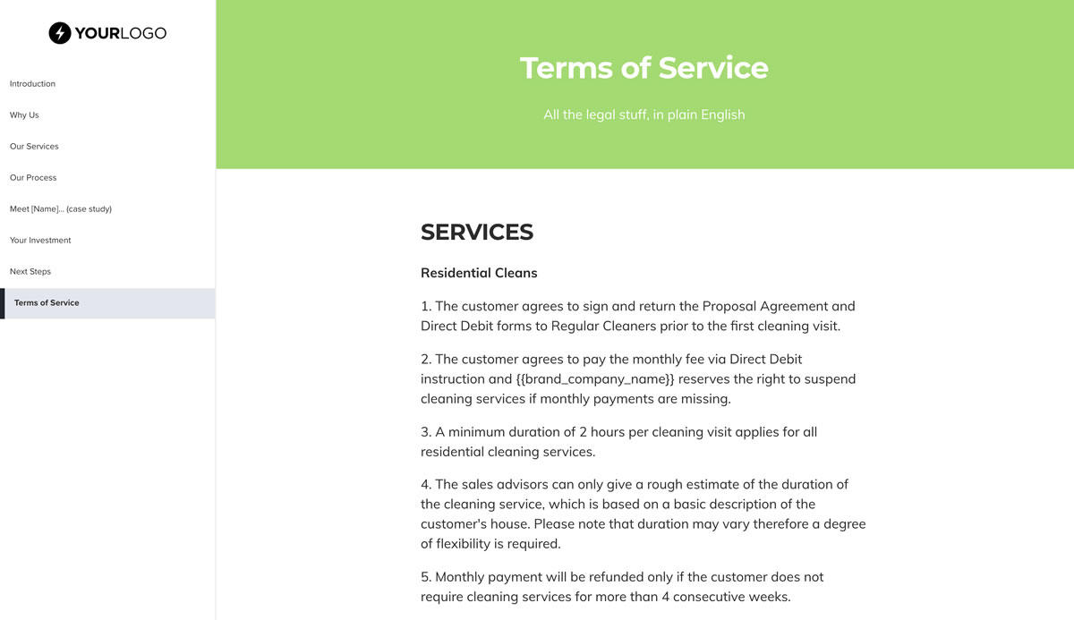 This [Free] Cleaning Service Proposal Template Won $30M of Business