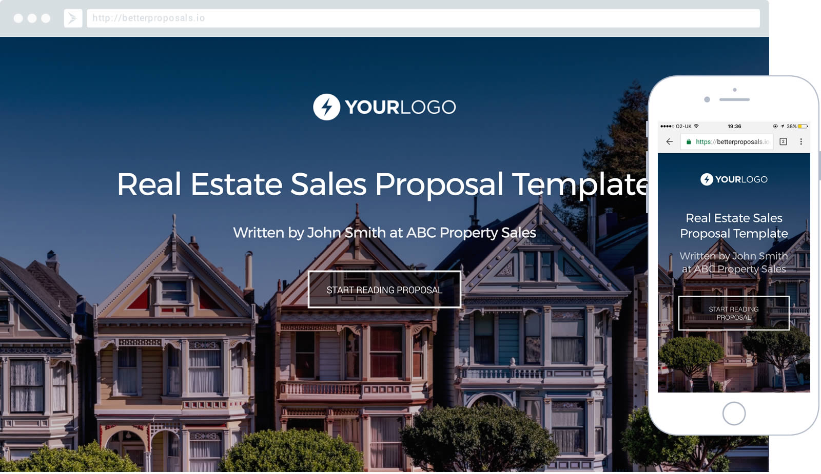 Free Estate Agent Proposal Template Better Proposals