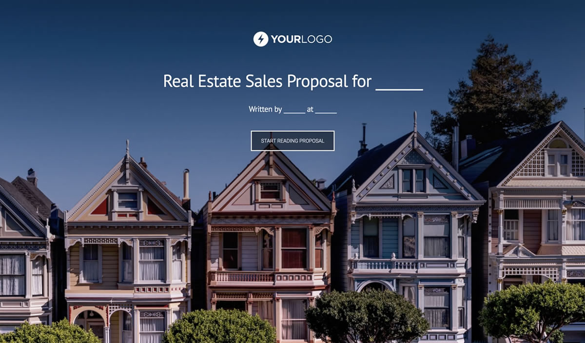 Free Real Estate Proposal Template Better Proposals