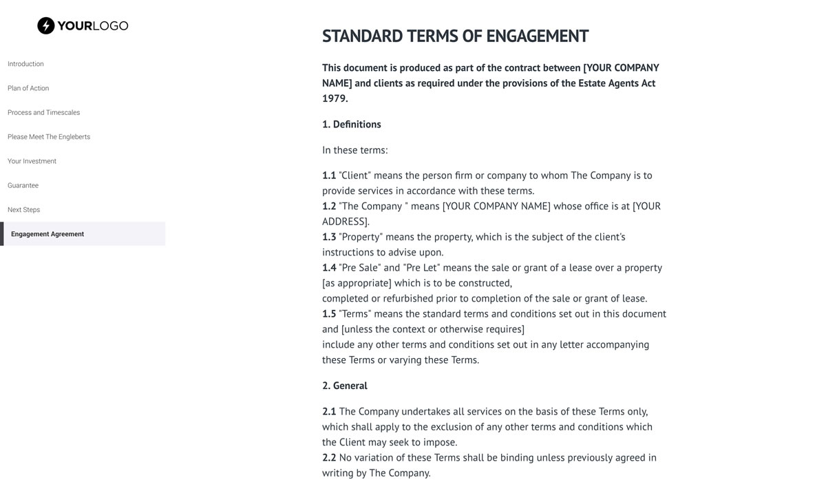 Real Estate Proposal Template | This Free Real Estate Proposal Template Won 19m Of Business
