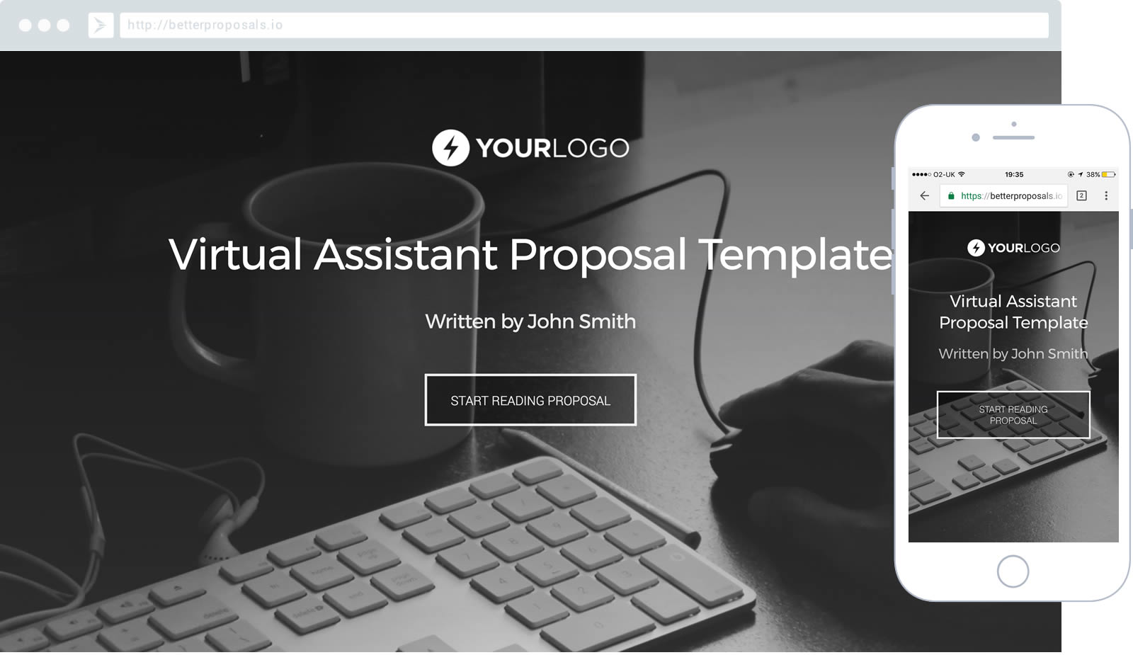 Free virtual assistant proposal template better proposals pronofoot35fo Choice Image
