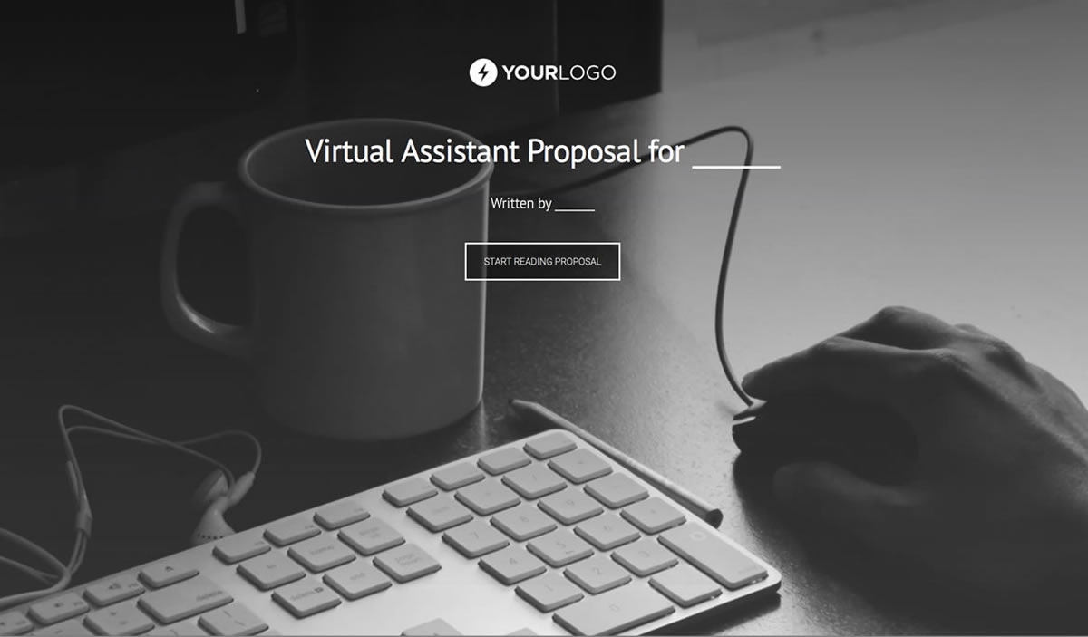 Free Virtual Assistant Proposal Template Better Proposals