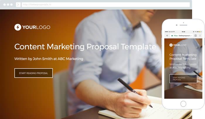free copywriting proposal template better proposals