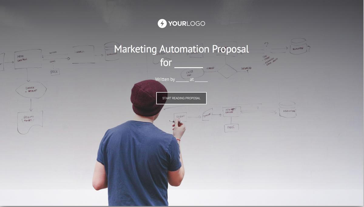 Free Marketing Automation Proposal Template