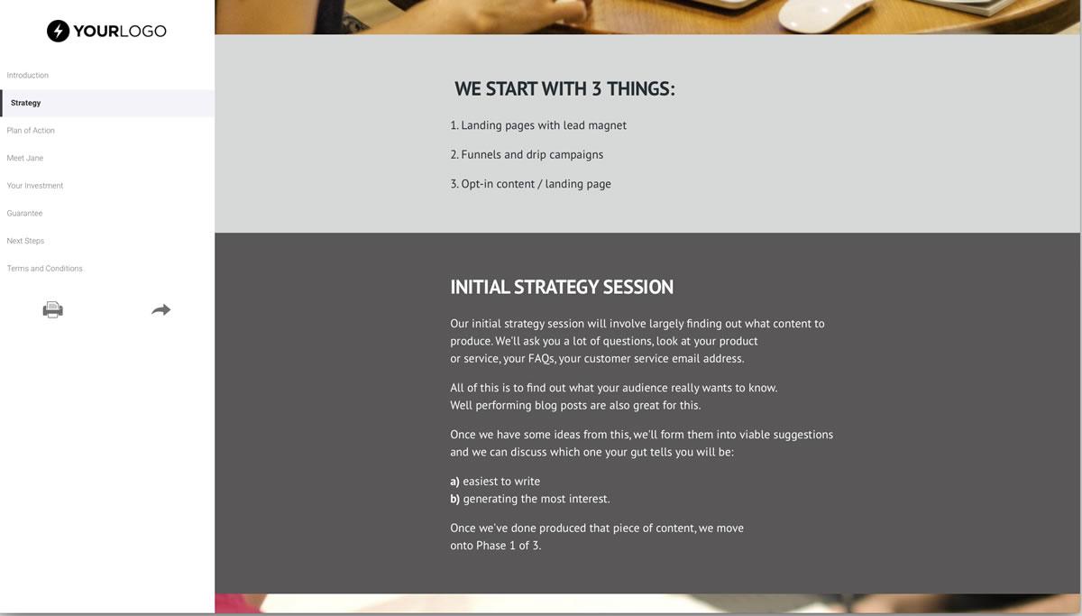 Restaurant kiosk automation sample proposal | business proposal.