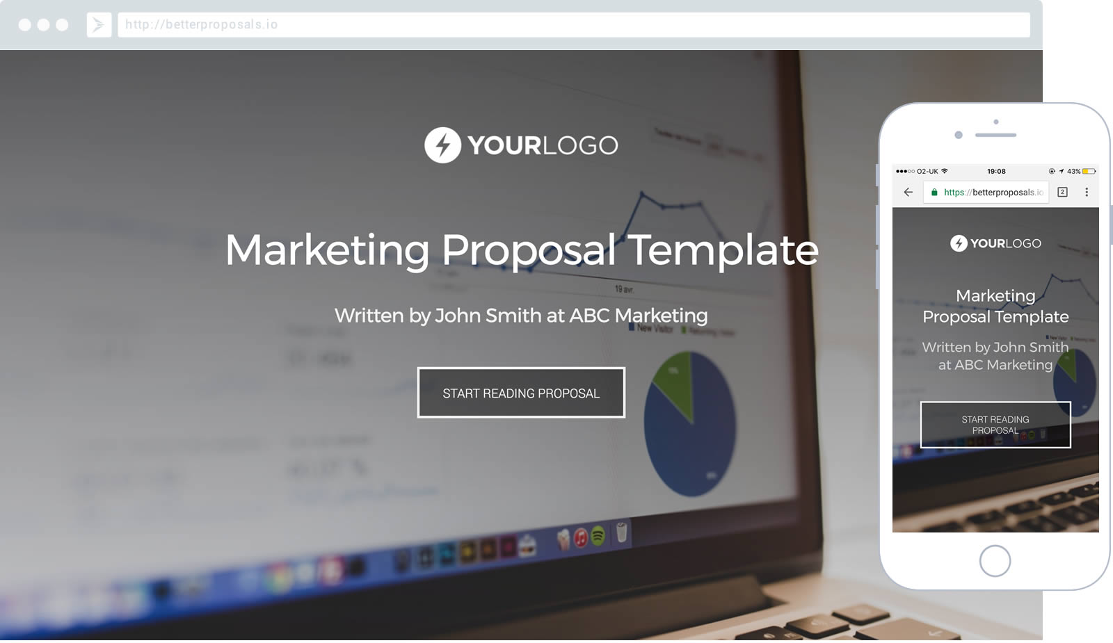 marketing services proposal template proposal template for any marketer - Free Proposal Template