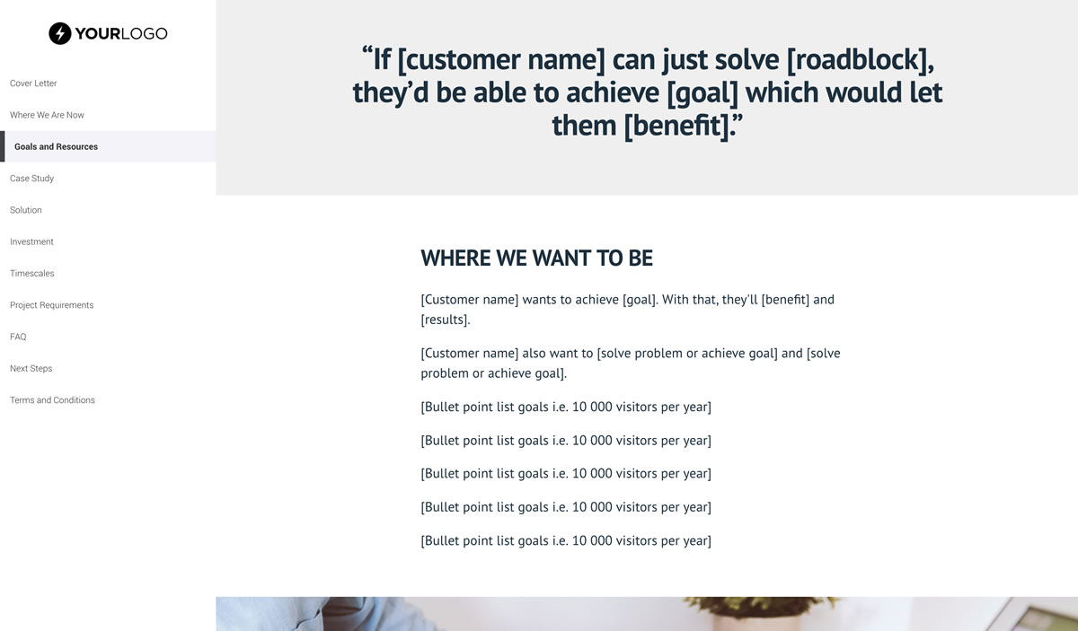 Free Marketing Funnel Proposal Template Better Proposals - Marketing funnel template