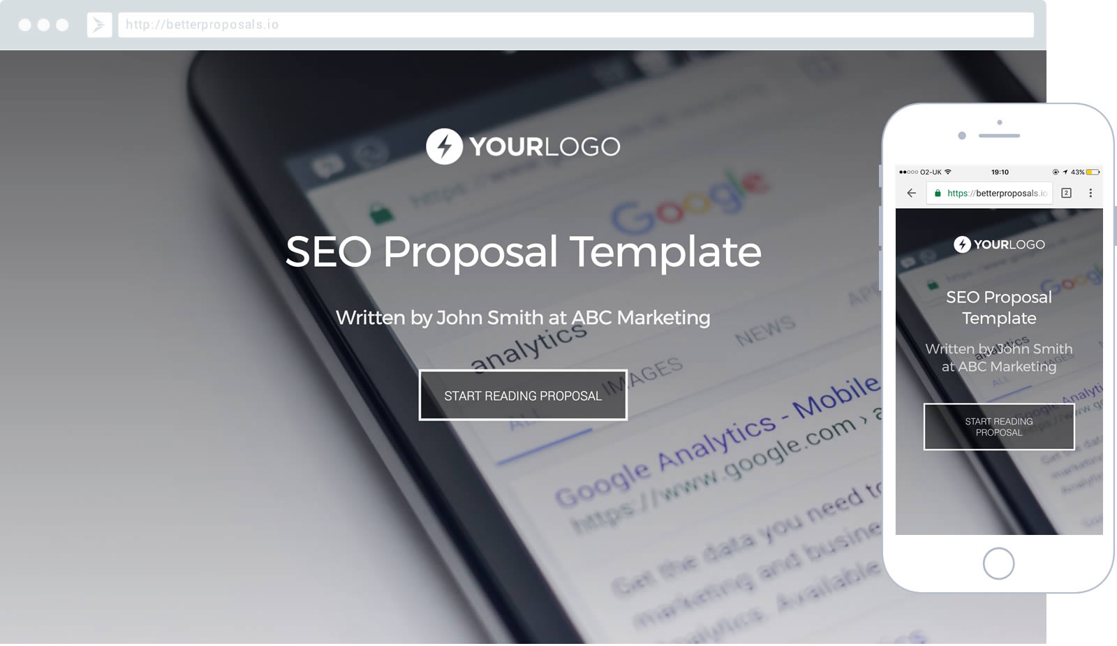 free seo proposal template better proposals