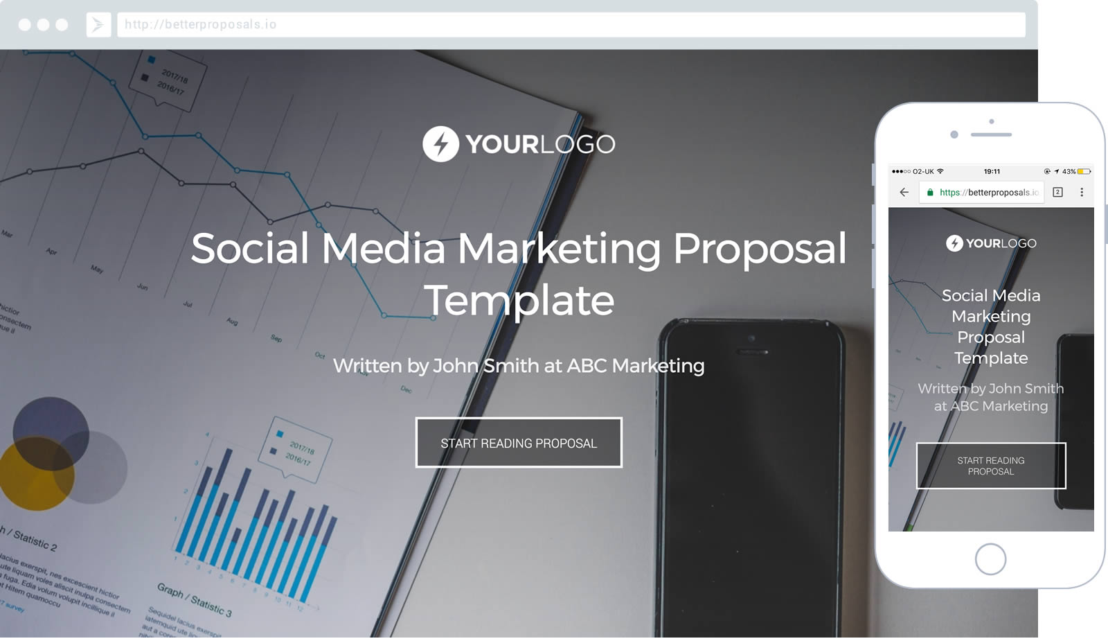 Social Media Marketing Proposal Template Proposal Template For Any Social  Media Marketer.