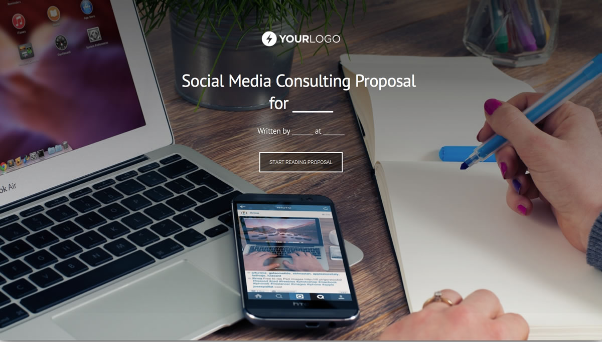 social media marketing proposal pdf free