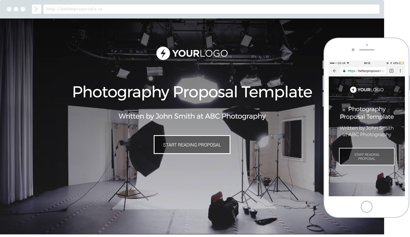 Free Photography Proposal Template Better Proposals – Photography Proposal Template