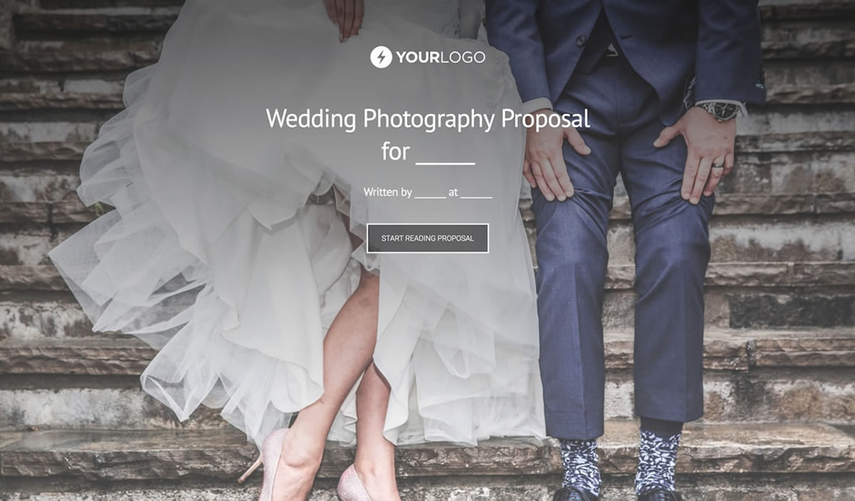 free wedding photography proposal template better proposals