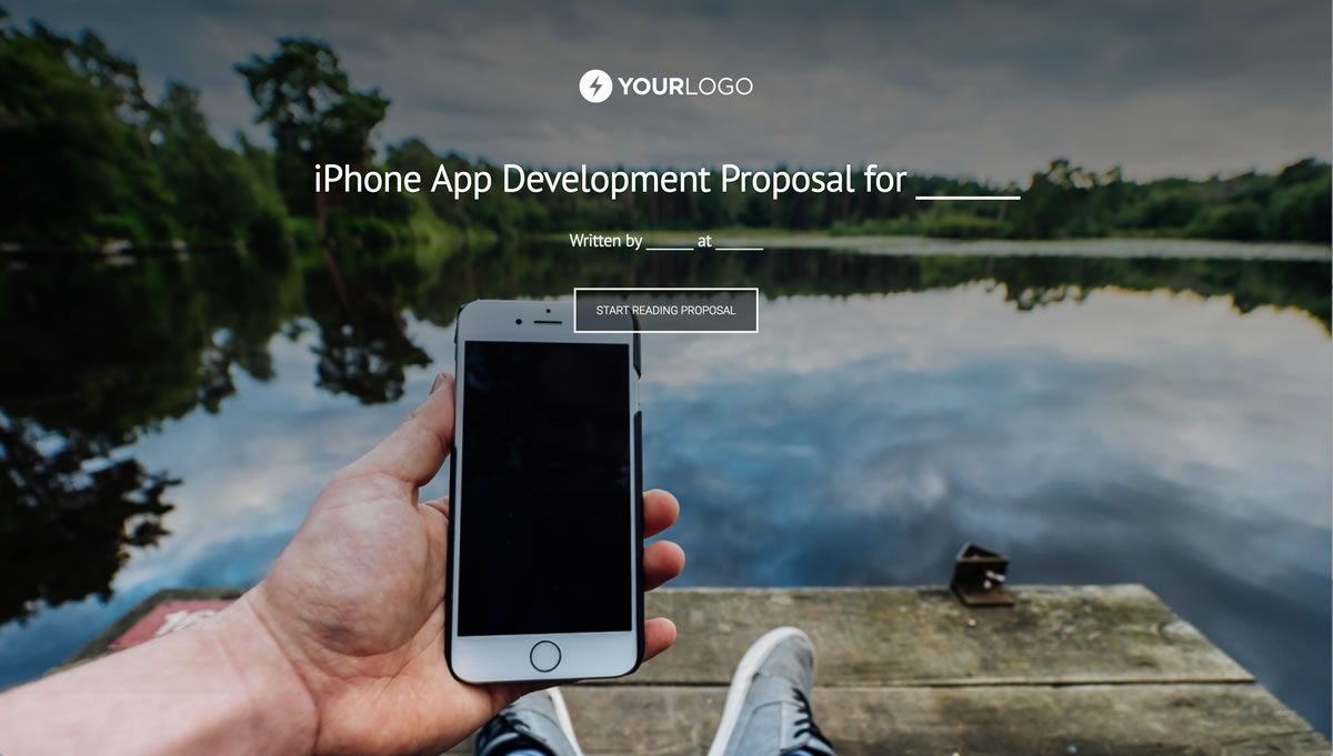 Free Iphone Mobile App Development Proposal Template Better Proposals