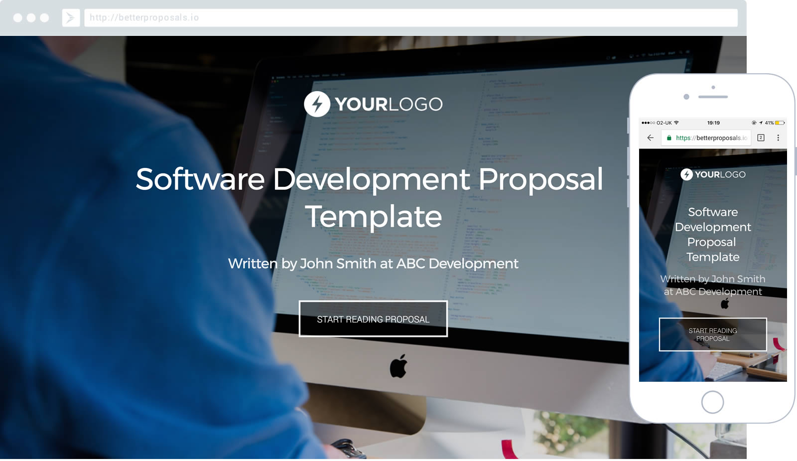 Superior 60+ Other Free Proposal Templates Just Like These Are Also Available Inside  Better Proposals. Software Development ...