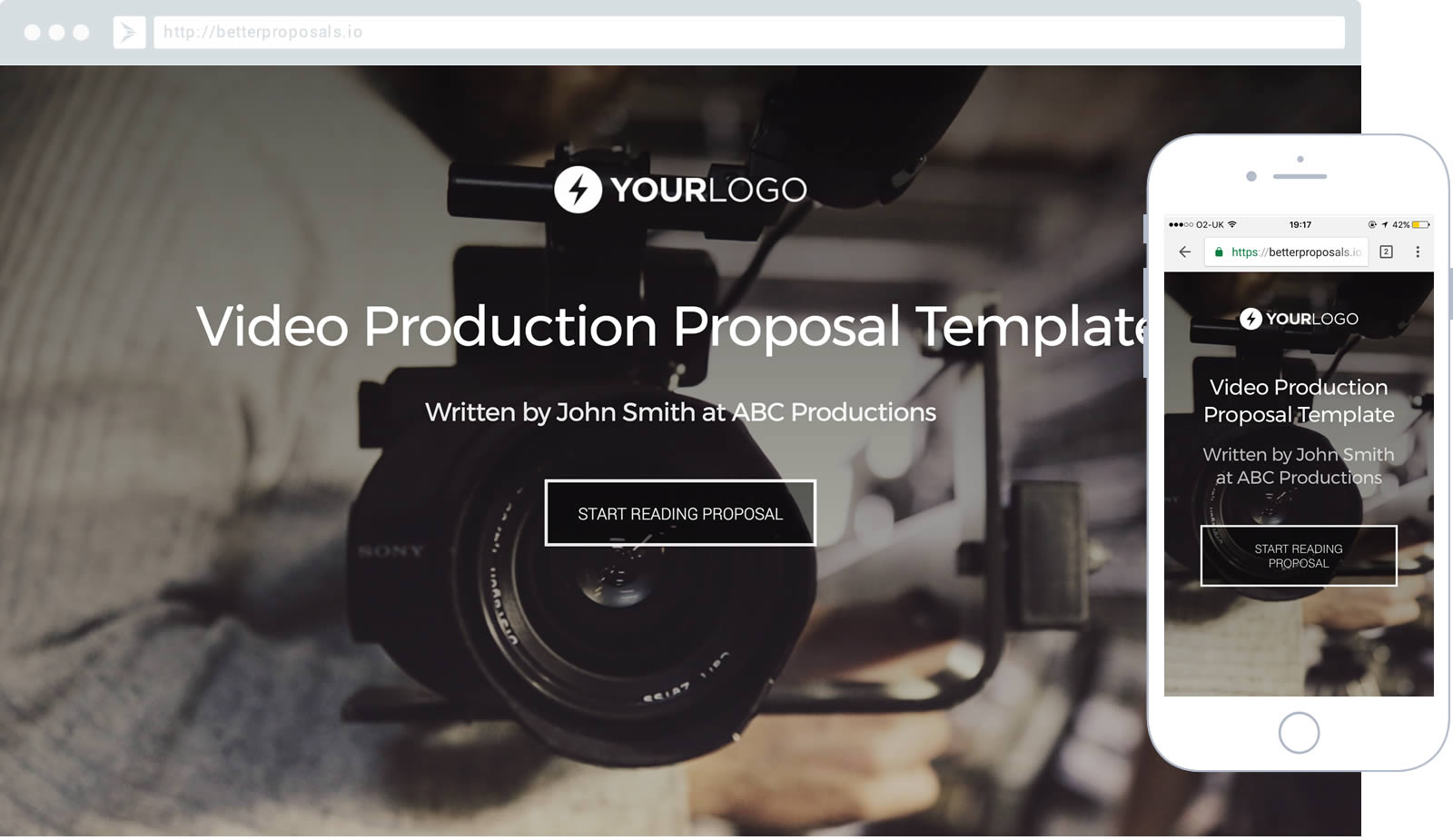 Free Video Production Proposal Template - Better Proposals