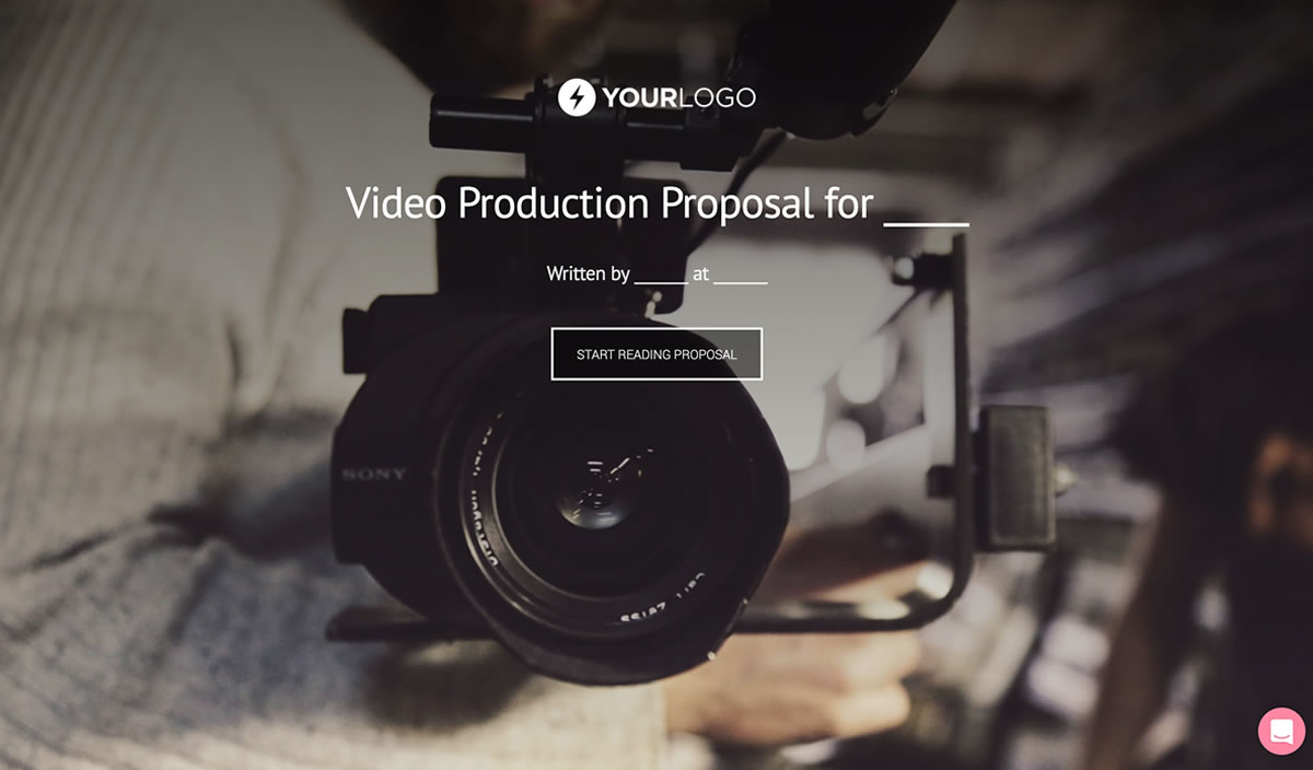 Free Video Production Proposal Template Better Proposals