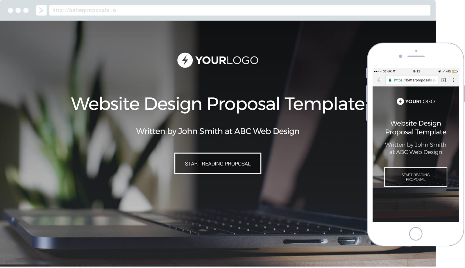 Website Design Proposal Template Proposal Template For Any Web Design Or  Development Company.