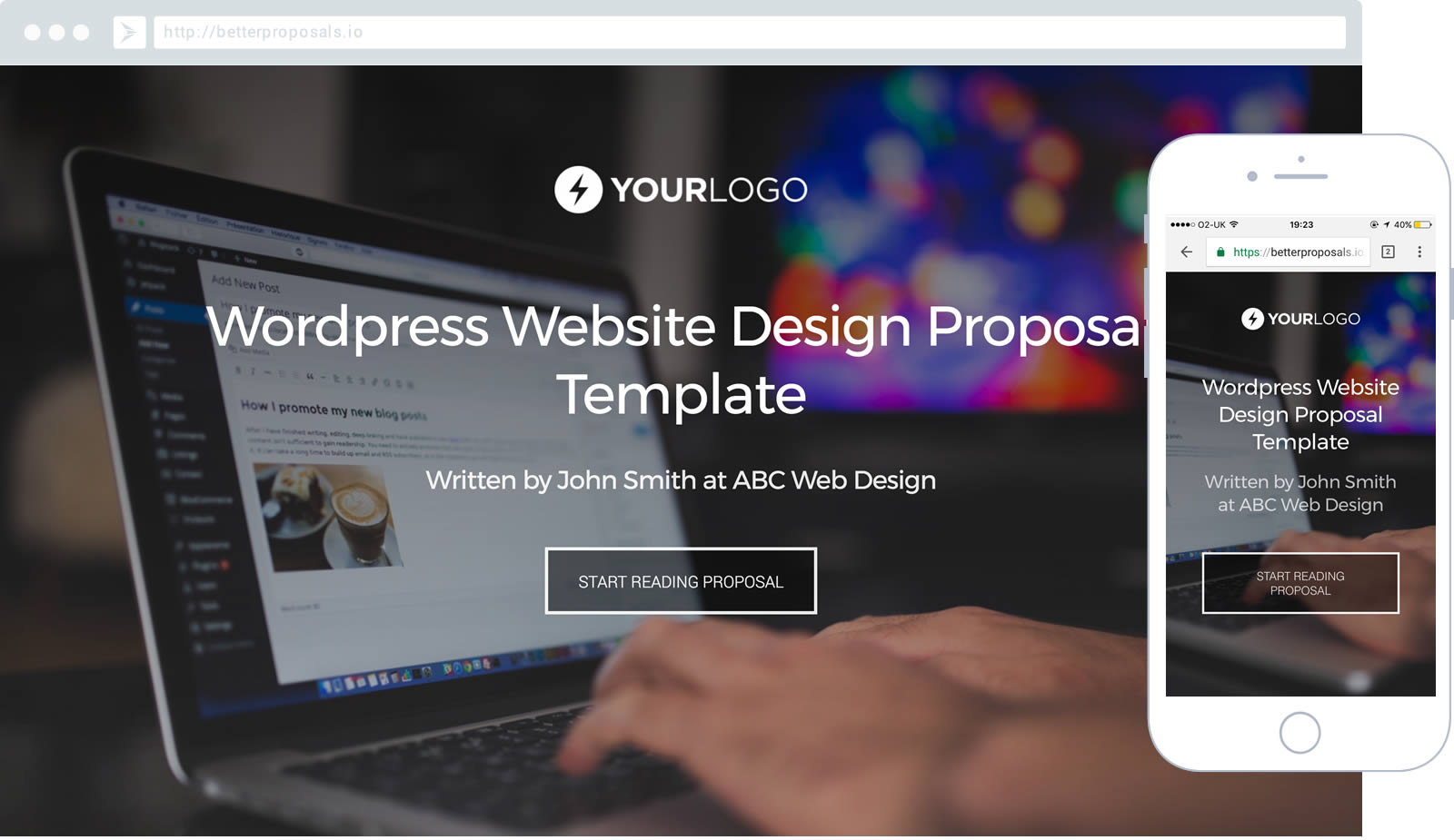 Free WordPress Website Design Proposal Template Better Proposals – Web Design Proposal Template