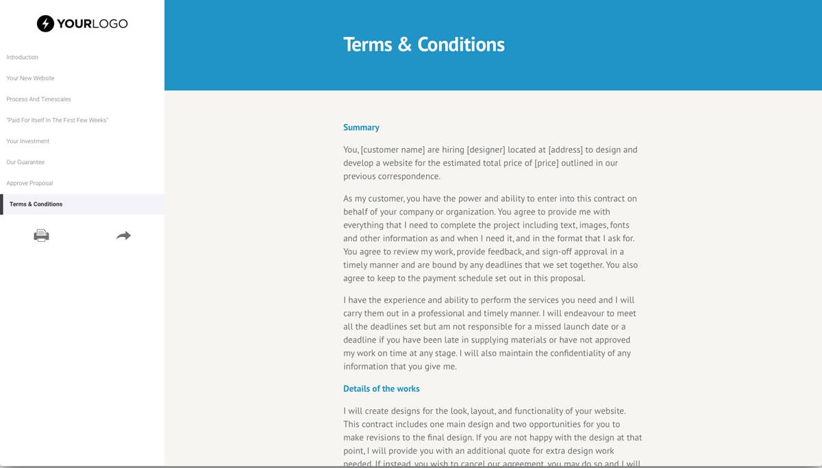 free wordpress website design proposal template better. Black Bedroom Furniture Sets. Home Design Ideas